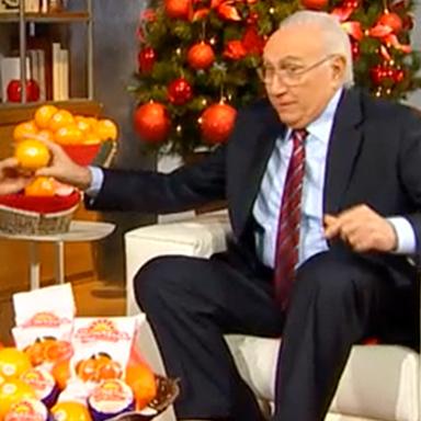 """Il Gruppo Roncaglia porta l'arancia Rosaria a """"Domenica In"""""""