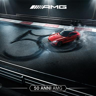 Mercedes-Benz festeggia i 50 anni di AMG a Monza con il Gruppo Roncaglia